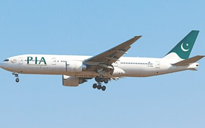 PIA still flying low