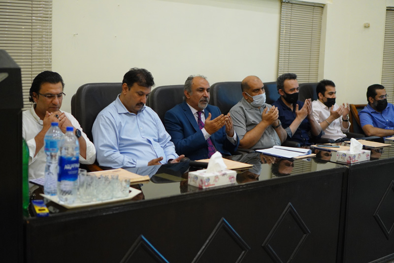 PALPA Annual General Body Meeting (AGM) held on Saturday the 27th February 2021 at 1700 hrs at Office of the Association, Karachi.